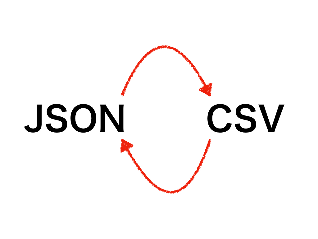 Node jsでjsonとcsvを相互変換する方法 - ブロックチェーン